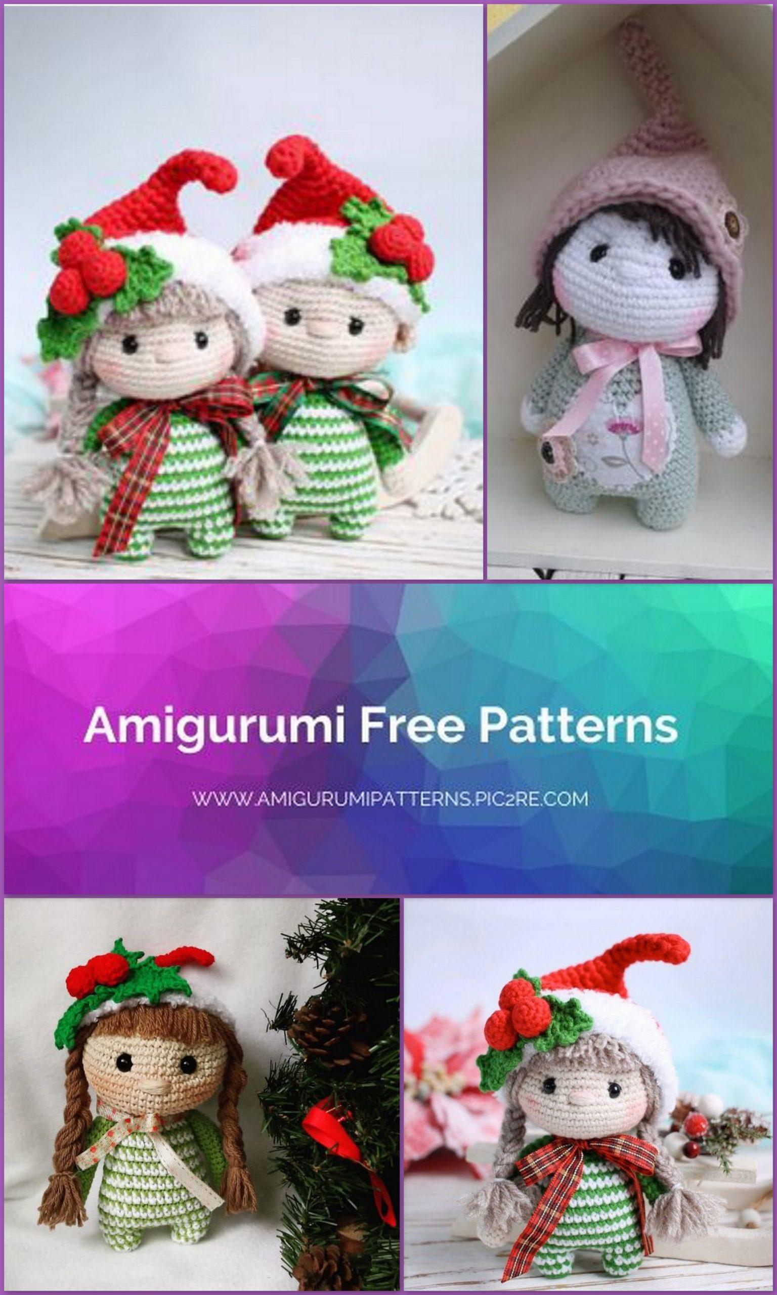 Free Pattern: Small Christmas Elf | 2560x1536