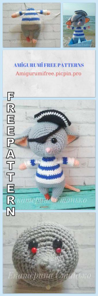 Amigurumi Doll Pacifier Baby Free Crochet Pattern   Amigurumi doll ...   1024x341