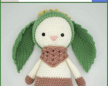 Rose the Rabbit Free Amigurumi Pattern | Jess Huff | 297x370