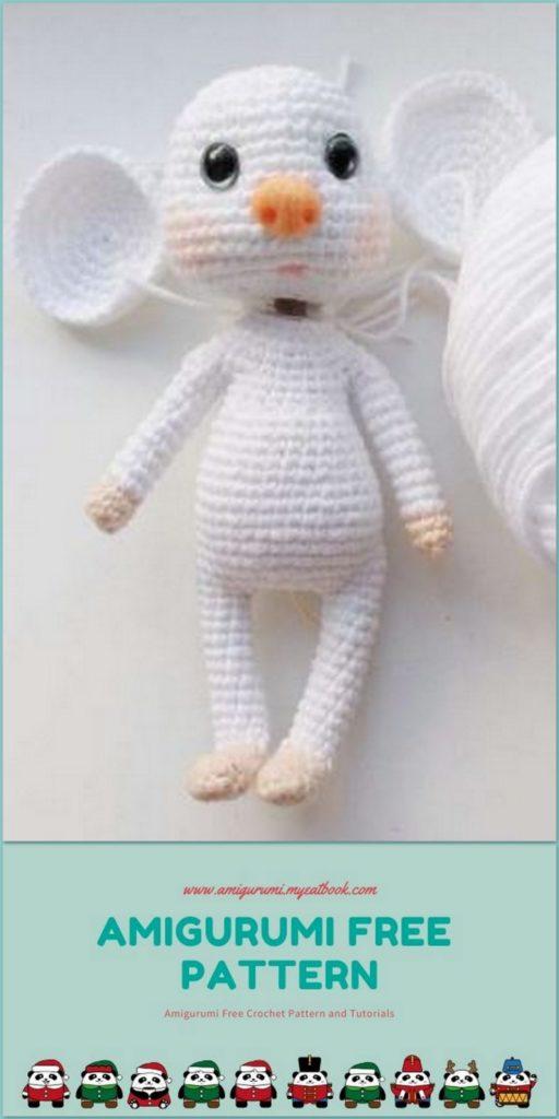 Mr. Jingles e Gas christmas amigurumi mouse crochet free pattern ...   1024x512