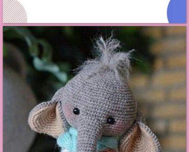 Free Elephant Crochet pattern (Free Amigurumi Patterns) | Patrones ... | 297x370