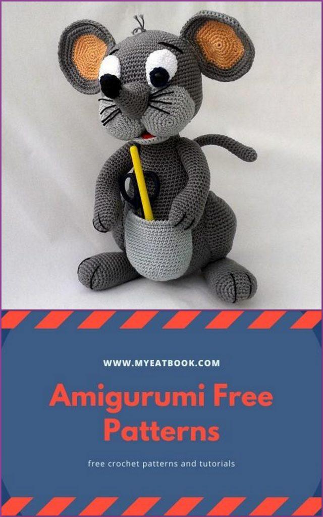 15+ Amigurumi Dog Free Crochet Pattern in 2020 | Crochet dog ... | 1024x640