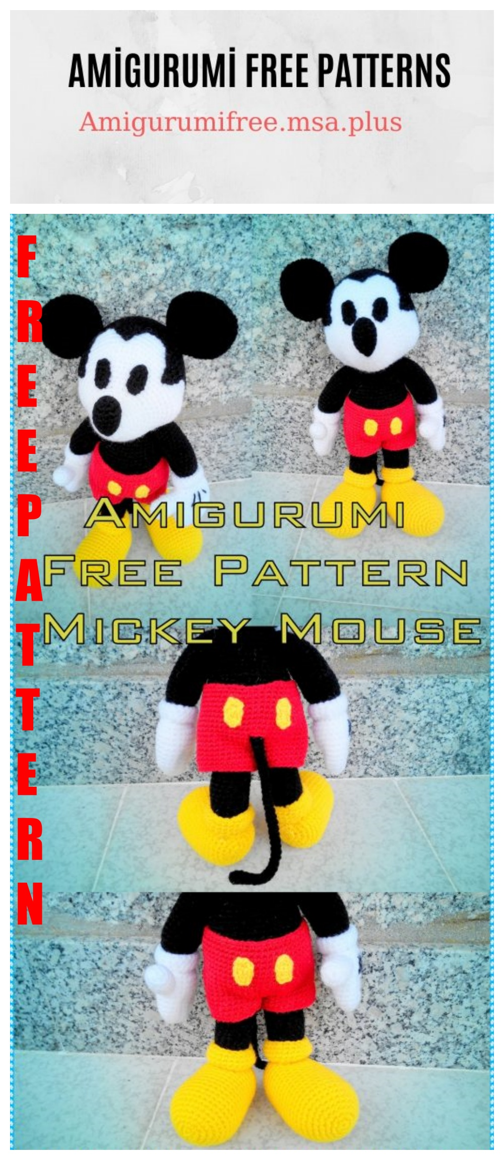 Pin by HiDBDesigns on Amigurumi | Crochet mickey mouse, Crochet ... | 2300x1000