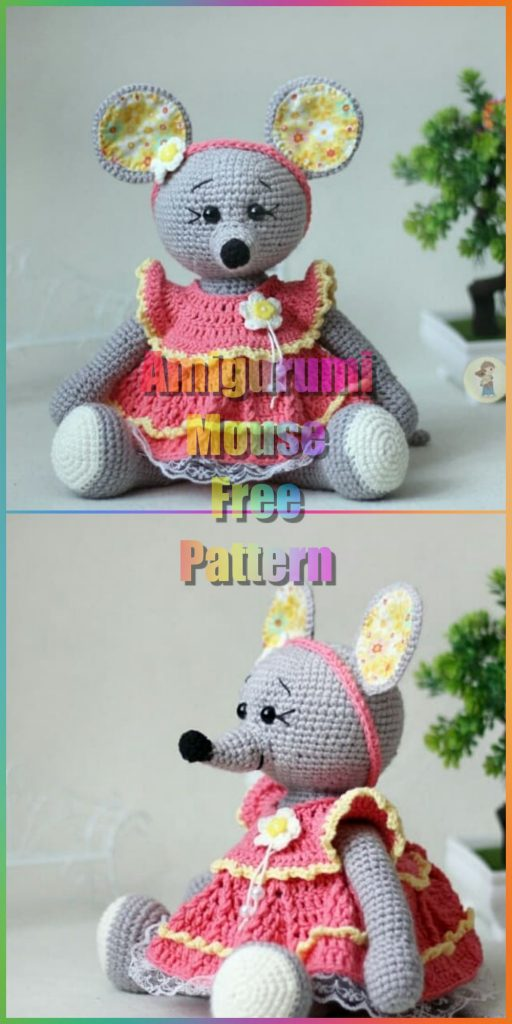 Let me introduce: Lisa the Mouse (new crochet amigurumi pattern ... | 1024x512