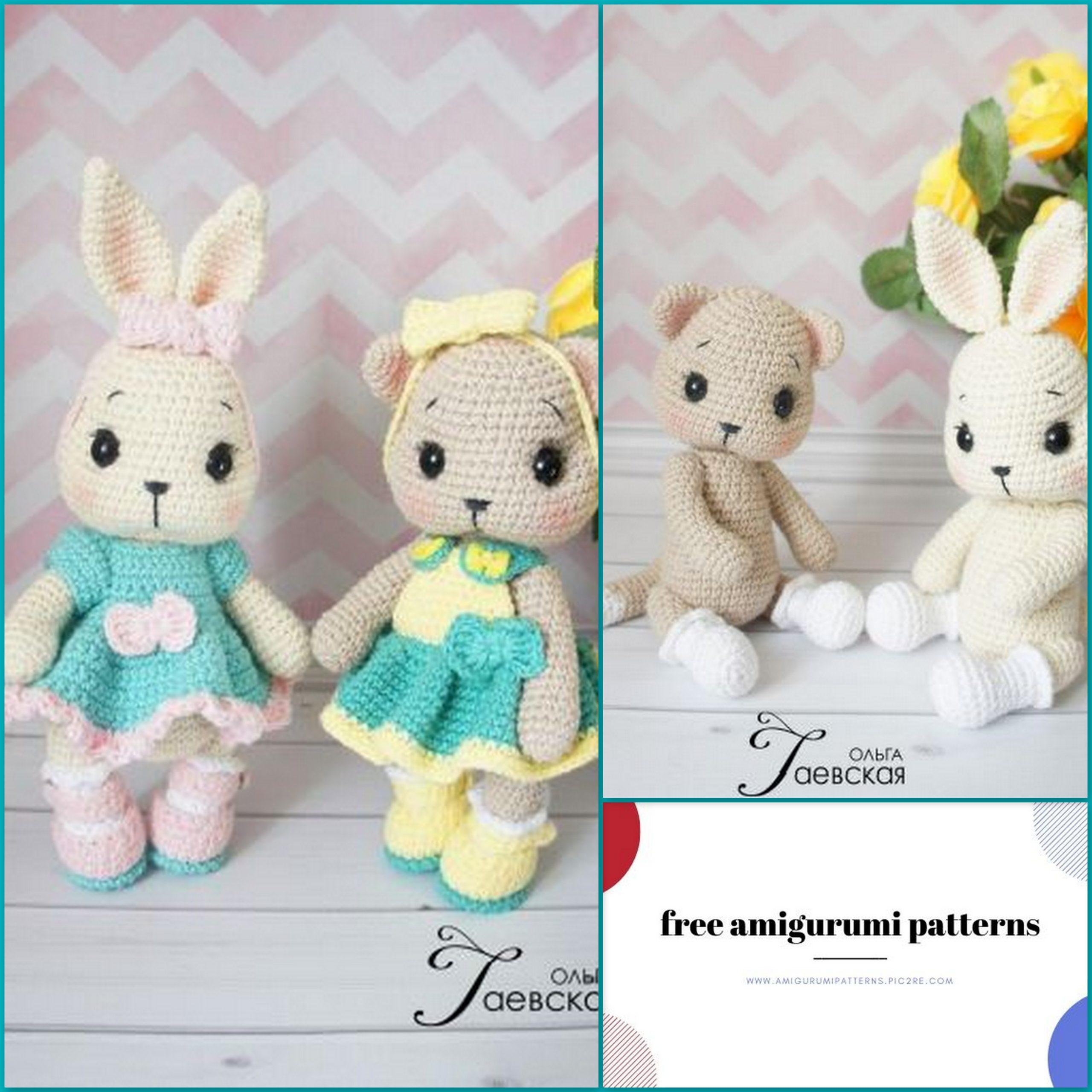 Amigurumi Bunny Free Crochet Patterns - Page 2 of 2 - Crochet ... | 2560x2560