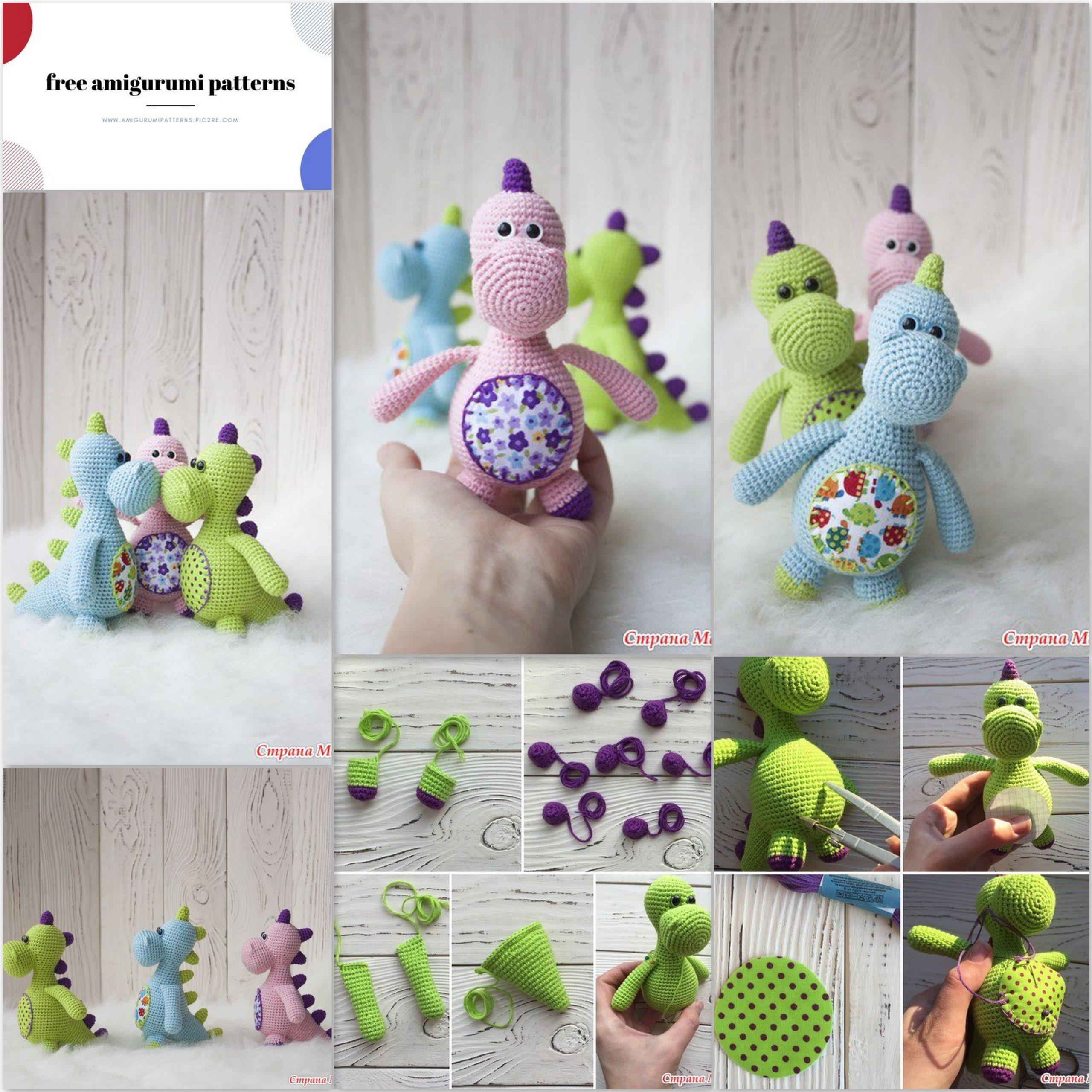 Tiny dragon amigurumi pattern | Crochet dragon pattern, Crochet ... | 2560x2560