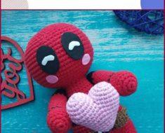 Amigurumi Crochet Deadpool amigurumi crocheted (amigurumi deadpool ... | 190x235