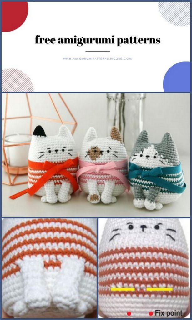 Crochet Fat Cat - amigurumi · Yarnover the Moon · Online Store ...   1024x614