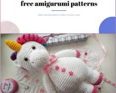 Amigurumi White Bear Free Crochet Pattern - Amigurumi Patterns Pic2re   190x235