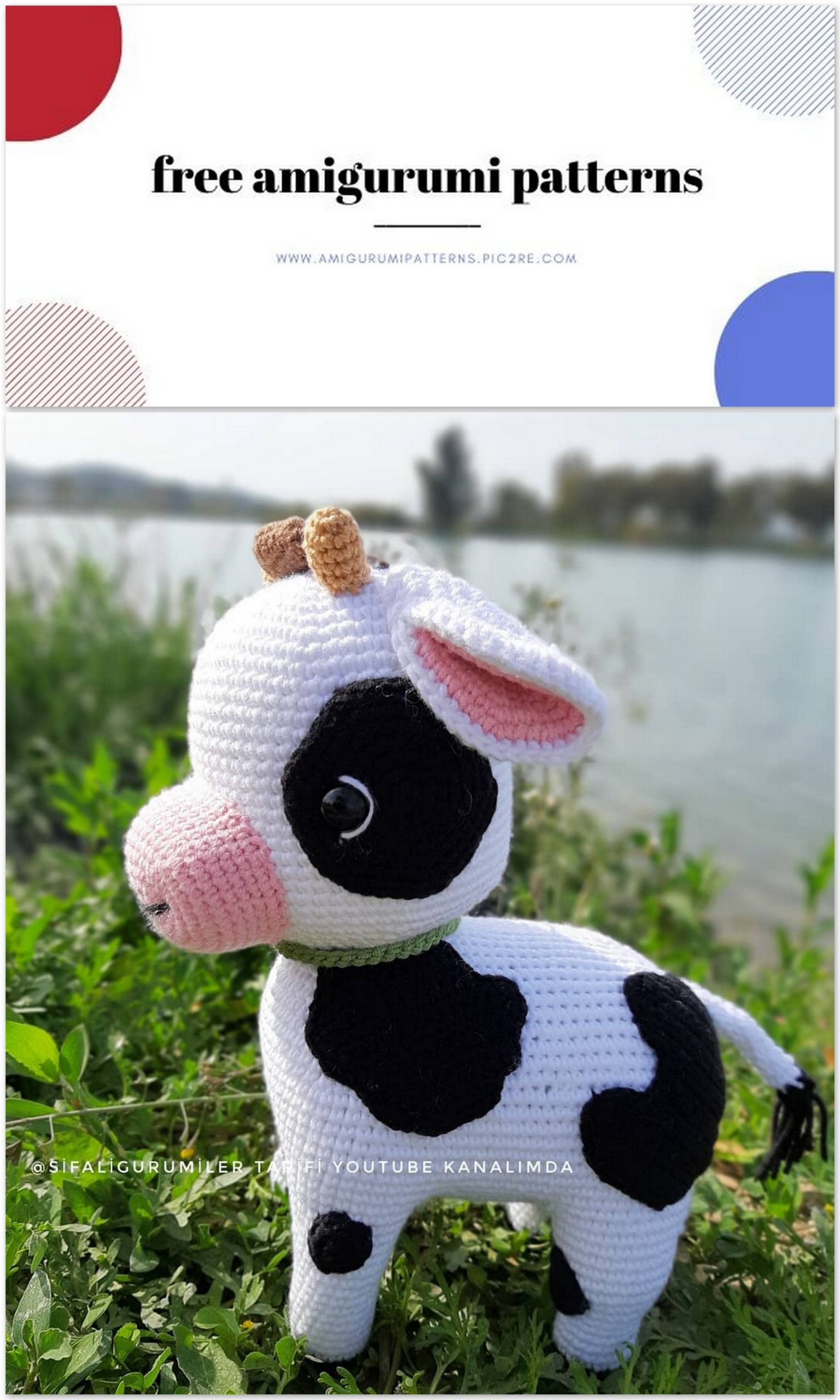 Nina is an adorable crocheted Elephant made with a PDF pattern The ... | 2560x1536