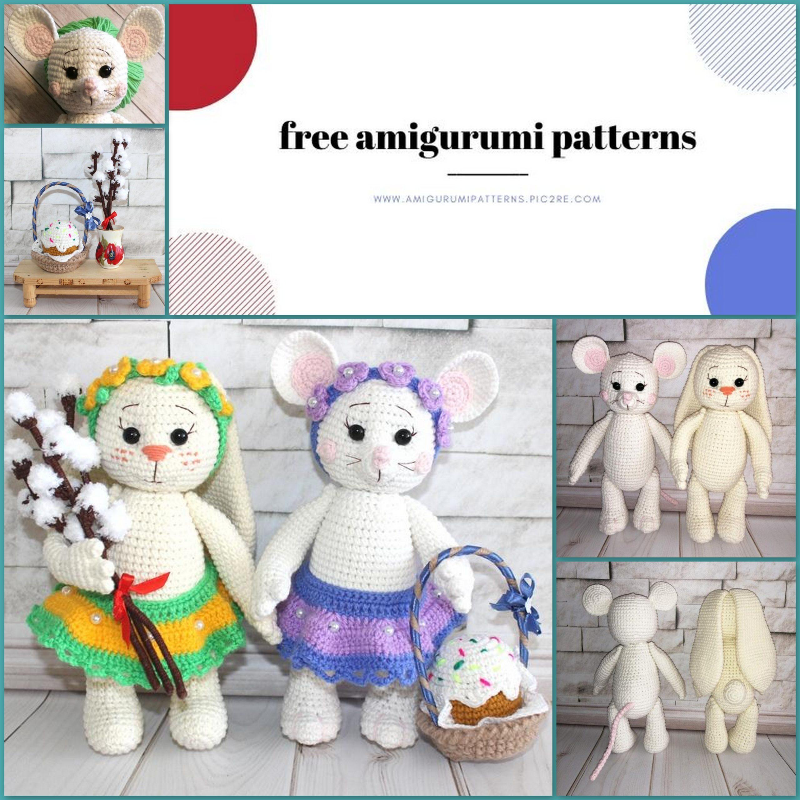 Amigurumi Spring Bunny- Free Pattern... - Tiny Mini Design | Facebook | 2560x2560
