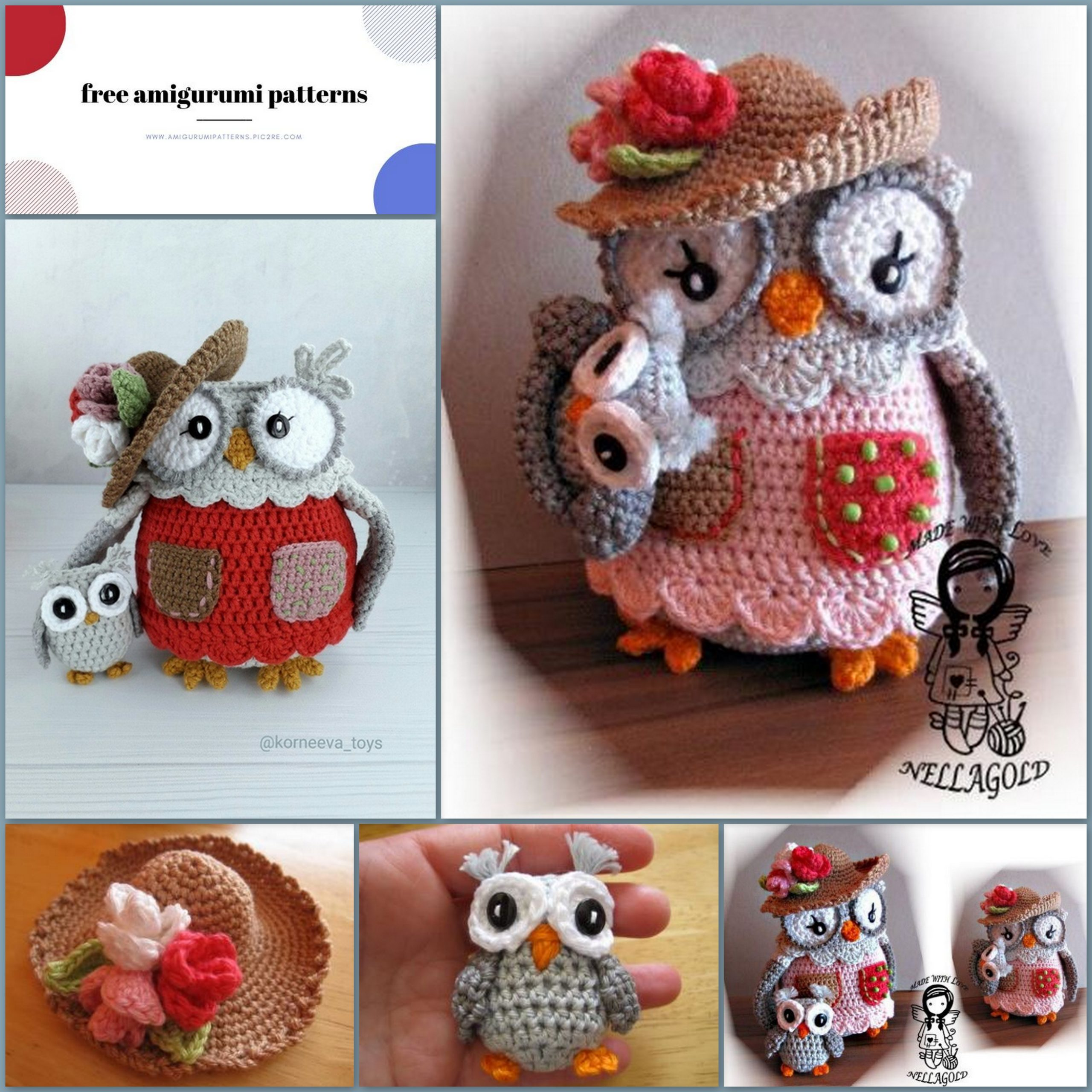 Owl Amigurumi Pattern Cutest Crochet Ideas Video Tutorial | 2560x2560