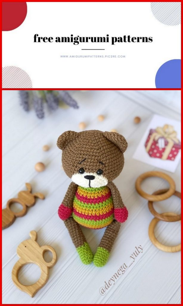 34 Crochet Teddy Bear Patterns | Guide Patterns | 1024x614
